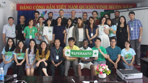 東アジア青年エスペラントセミナー (2019年5月・ベトナム)